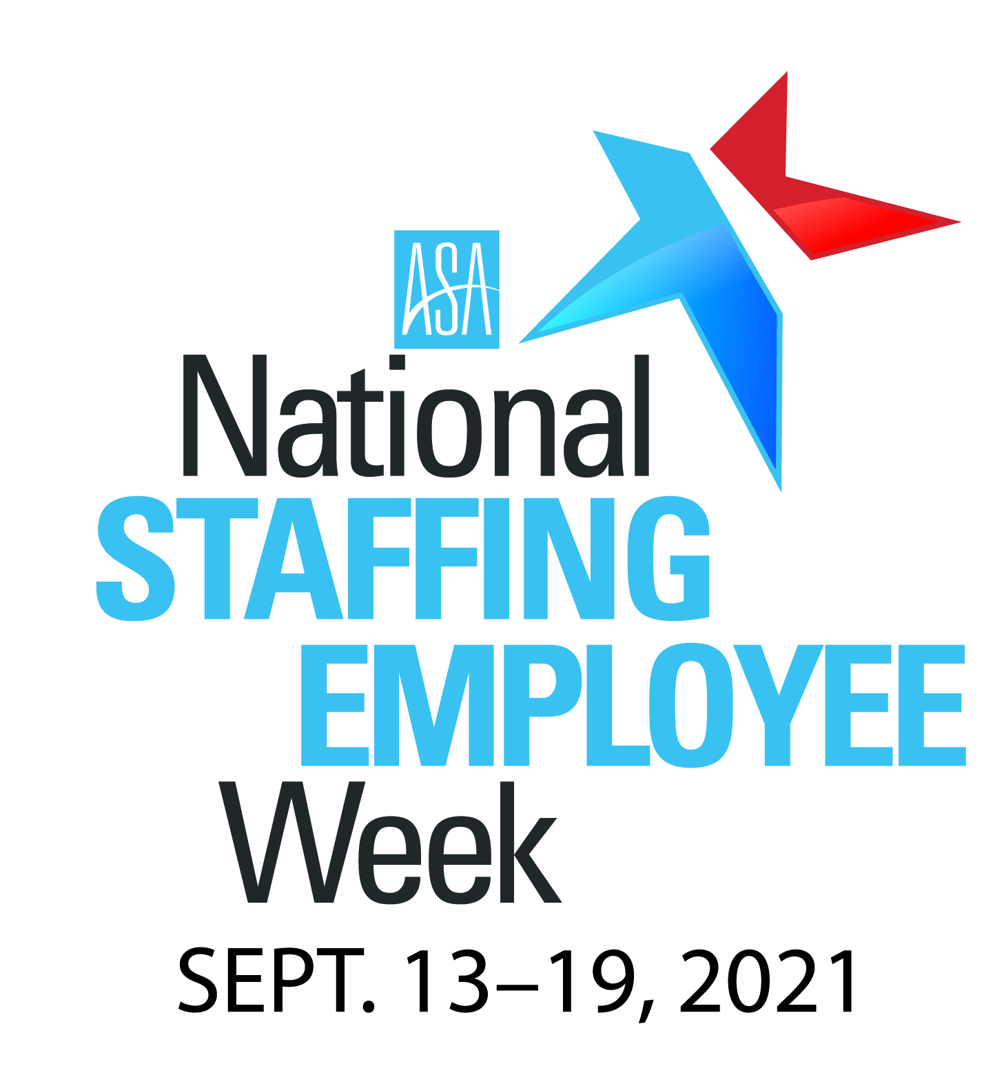 National Staffing Employee Week logo